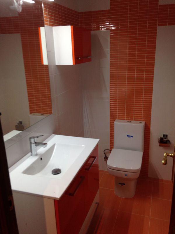 Reforma de dos baños en soria incluyendo fontaneria y desagues